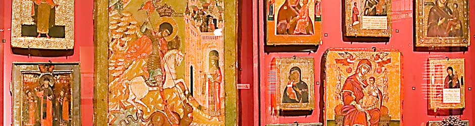 The largest icon collection outside London's Victoria and Albert Museum.